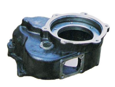 Cylindrical gear housing
